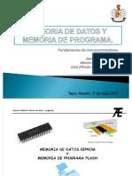 Memoria de Datos y Memoria de Programa Expo Sic Ion)
