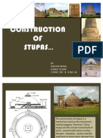 Construction of Stupa