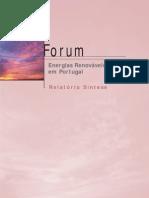 FORUM Relatorio Sintese