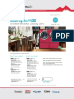 Save up to $400 on select Electrolux Laundry pairs