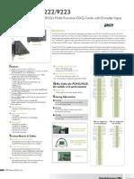 PCI-9221 Datasheet 1