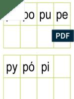 sylaba P i M _dopasowywanka_duże i małe sylaby