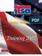 Joint Training 2015