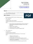 Resume of Sameer Kadam IE