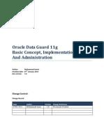 Oracle Dataguard 11g Doc V1.01