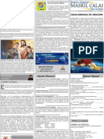 Boletín Informativo MASKIL CALAI