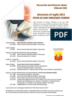 Manifesto San Vincenzo