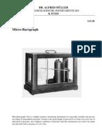 Manual do Microbarógrafo