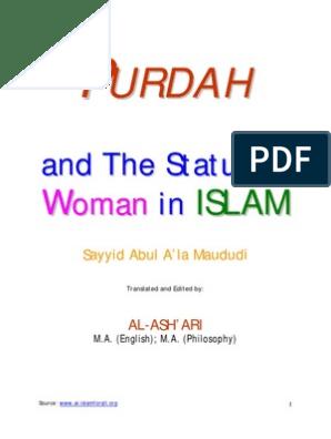 Purdah and the Status of Women in ISLAM by Maududi | Wife