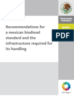 2010 Endbericht GTZ AGQM Project Recommendations-For-A-Mexican-Biodiesel-Standard