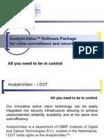 AnalyticVideoSP-IDOT