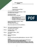 AALL Executive Board Agenda July 21-22,2011