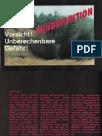 Fundmunition - Vorsicht ! Unberechenbare Gefahr !