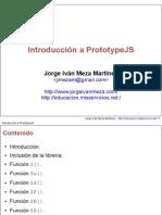Introducción a PrototypeJS