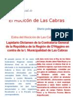 """Informe Final nro. 27 contralorìa regional de O""""Higgins."""