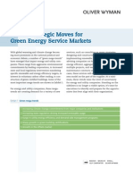 Oliver Wyman en UTIL 2008 Green Markets