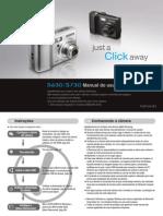 Manual Samsung Câmera S730 Portugues