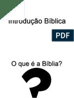 Introdução Bíblica - Curso bíblico Imub - AULA 1