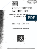 Schopenhauer Jahrbuch - 1943