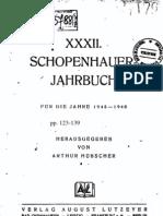 Schopenhauer Jahrbuch - 1945-48