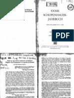 Schopenhauer Jahrbuch - 1949-50 02