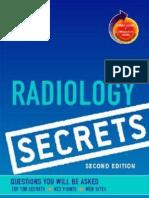 Radiology Secrets - 2nd Ed
