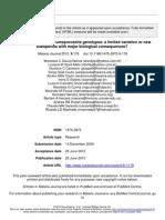 Plasmodium vivax circumsporozoite genotypes- a limited variation or new-versão online