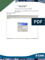 DSL 500T - Configuracoes Para o Modo Router