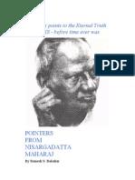 nisargadatta maharaj - ebook - pointers from nisargadatta - searchable