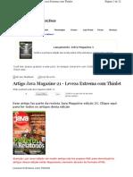JavaMagazine_21_Leveza Extrema Com Thinlet