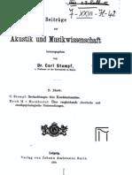 Beitraege zur Akustik und Musikwissenschaft (1910-05-Heft)