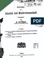Beitraege zur Akustik und Musikwissenschaft (1924-09-Heft)