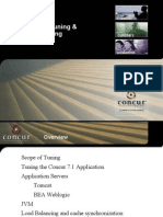 Concur 7.1 System Tuning