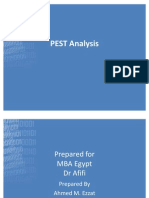 Egypt PEST Analysis