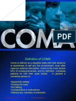 Coma - Causes And Management