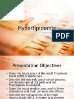 Management of Hyperlipidemia