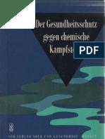 Der Gesundheitsschutz gegen chemische  Kampfstoffe - 1962 / Fink, Hrdina, Jakle, Tulach u.a.
