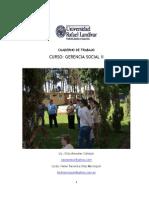 Cuaderno de Trabajo Gerencia Social II 2011