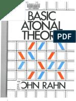 John Rahn - Basic Atonal Theory