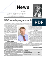April 2002 Spot News
