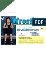 Fall Wrestling for Kids