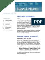 EWI Newsletter