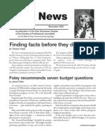 November 2004 Spot News