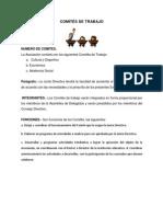 COMITÉS DE TRABAJO
