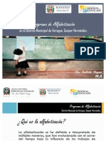 Estudio alfabetización y pobreza en Veragua.