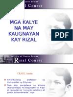 Rizal - Kalye
