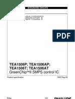 Datasheet Tea 1506