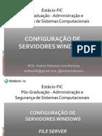 Segunda aula - File Server e DFS