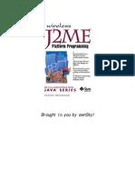 Wireless J2ME™ Platform Programming