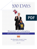 Mayor Gray - 1st 200 Days